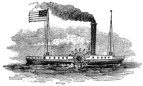 Barco De Vapor Invencion by The Fulton Steamboat Made Transportation Much Easier And