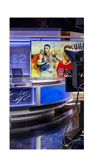 Strong lines anchor solid new CBS 2 News Los Angeles set