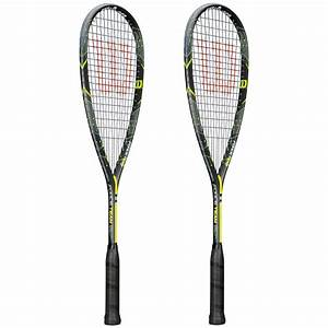 Wilson Force Team Squash Racket Double Pack