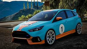 Ford Focus Rs 2017 - Gulf Livery
