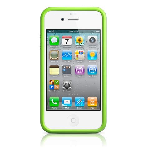 iphone bump bumper vert pour iphone 4 4s sosav fr