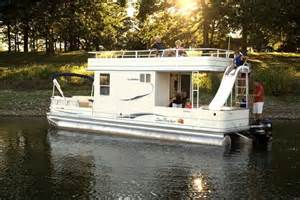 pontoon houseboat bring back memories i don t remember ours a slide