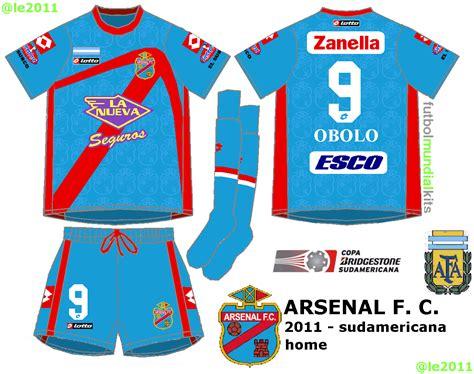 Fútbol Mundial Kits - Uruguay: Arsenal de Sarandí - 2011 ...
