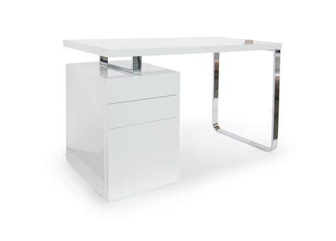 blanc au bureau bureau laqué blanc topten lestendances fr