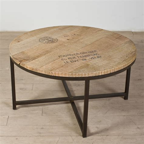 round distressed wood coffee table coffee tables ideas manufacture made distressed round