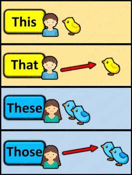 demonstrative pronoun pack