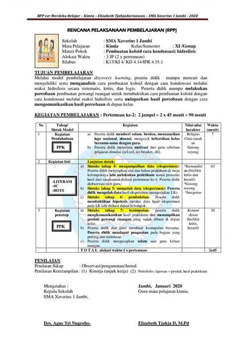 Berikut ini admin bagikan silabus dan rpp. Contoh Rpp 1 Lembar Smp Bahasa Inggris Kelas 8 | Blog Guru ...