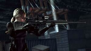 Girl with gun, Resident evil wallpapers and images ...