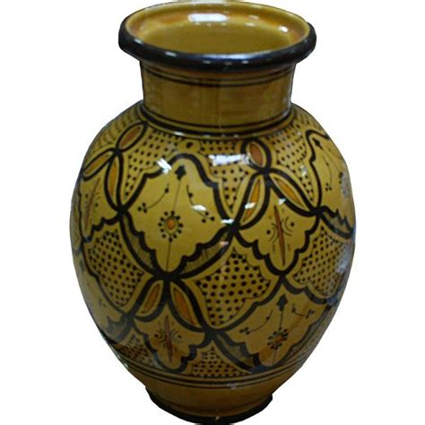 Moroccan Vases by Yellow Safi Moroccan Ceramic Pottery Vase