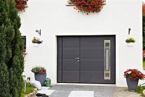 Porte De Garage Motorisée Avec Portillon : porte de garage basculante motoris e ateliers goudier ~ Dode.kayakingforconservation.com Idées de Décoration