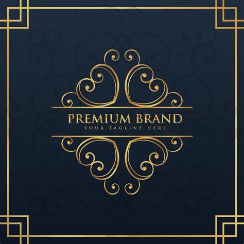 monogram logo design  premium  luxury brand