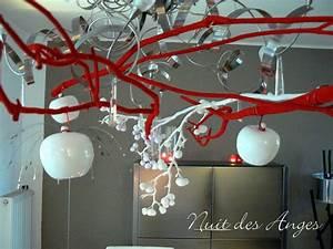Pomme Rouge Deco : d coration de table rouge pomme d 39 amour nuit des anges ~ Teatrodelosmanantiales.com Idées de Décoration