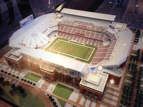 texas ams kyle field    largest scoreboard