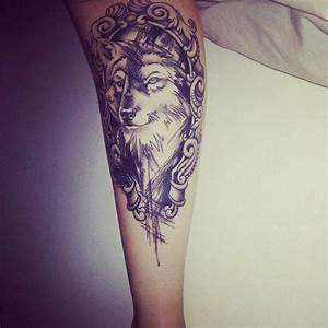 Tatouage Loup Celtique : un tatouage de loup 14 inkage ~ Farleysfitness.com Idées de Décoration