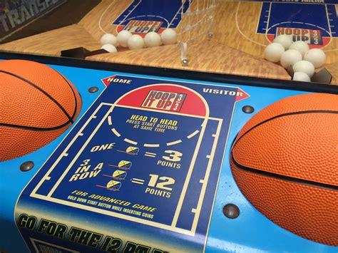 hoop   basketball arcade game rental video amusement