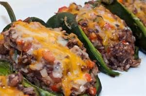 Grilled Stuffed Poblano Pepper Recipes