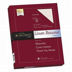 southworth sourd18acfln 100 cotton linen resume paper With linen resume paper