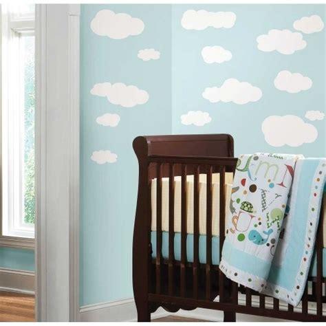 kinderzimmer deko wandgestaltung kinderzimmer deko mit wolken 5 tipps und 30 beispiele