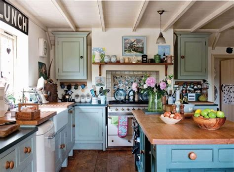 Cute Country Cottage Kitchen