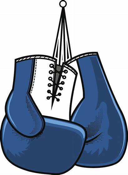 Boxing Gloves Cartoon Simple Vinyl Sticker Decal