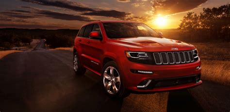 Because You Deserve A Thrill; 2014 Jeep Grand Cherokee Srt