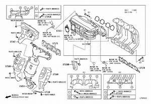 2012 Scion Iq Engine Intake Manifold  Upper   Engine