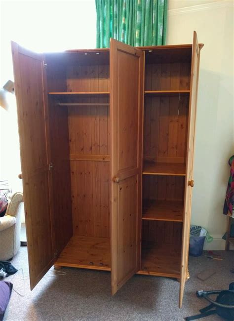 Wooden Wardrobes For Sale by Large Wardrobe Great Condition On Gumtree Large