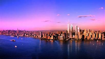 York Desktop Skyline Sea Scenery Wallpapers Cityscapes