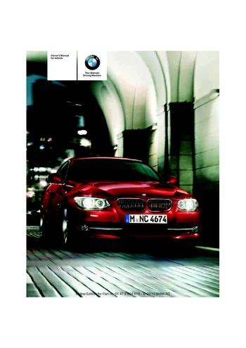 328i Manual by 2011 Bmw 328i Xdrive Coupe Owner S Manual Pdf
