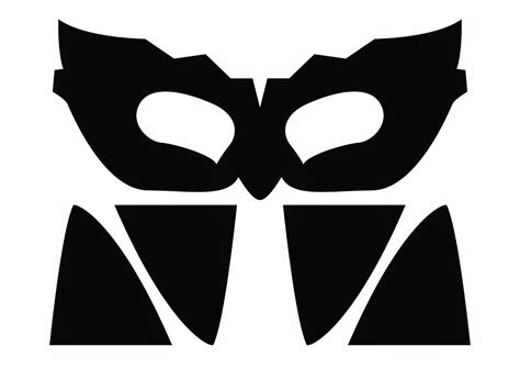 mask template clipart
