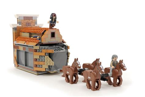 Custom Lego Pirates Of The Caribbean Bank Heist