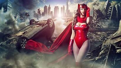 Witch Scarlet Cosplay Avengers Marvel Wanda Deviantart