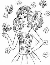 Coloring Pages Cute sketch template
