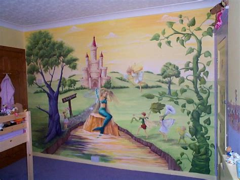 Kids Wall Mural-grasscloth Wallpaper