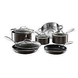 pewter multi cookware set bed bath