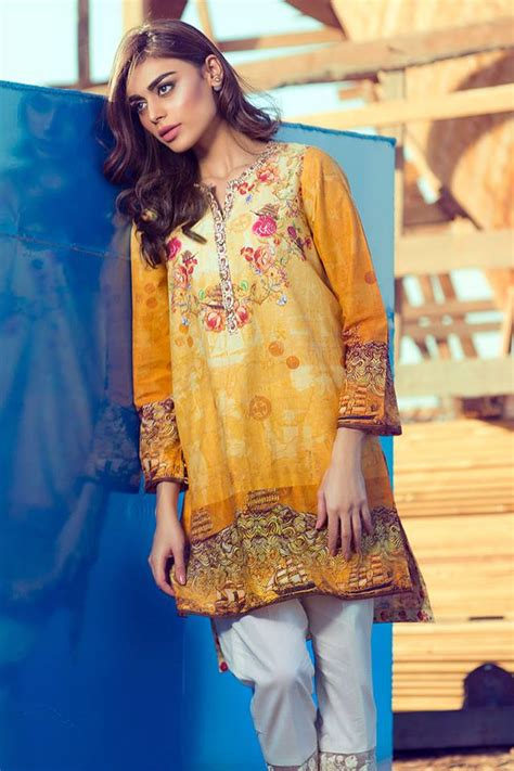 women clothing collection for new year 2016 2017 thankar women summer pret dresses collection 2016 2017