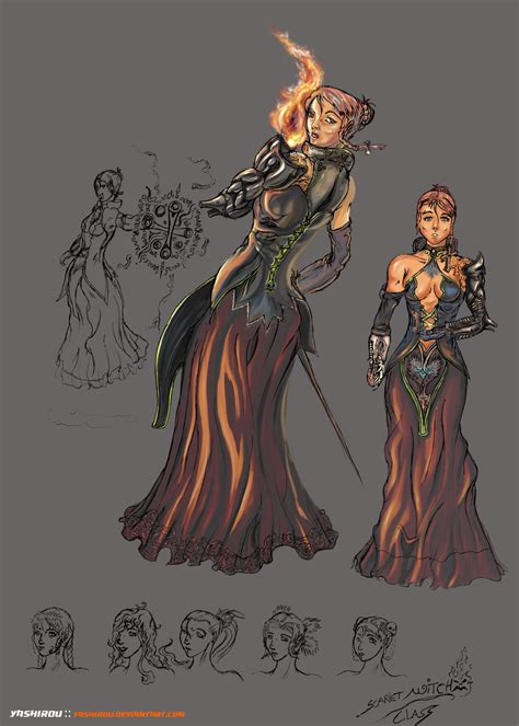 witch designs witch character design by yashirou on deviantart