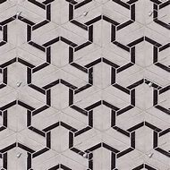 Marble Tile Geometric Pattern