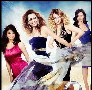 Demi Lovato And Selena Gomez And Miley Cyrus | miley cyrus ...