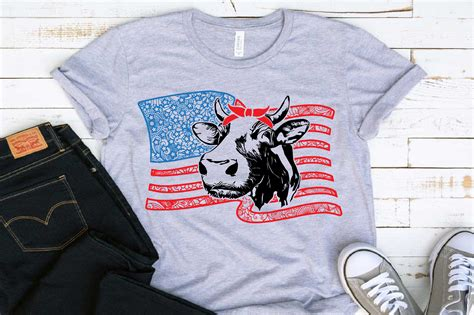 4Th Of July Cow Svg – 398+ SVG File for Silhouette