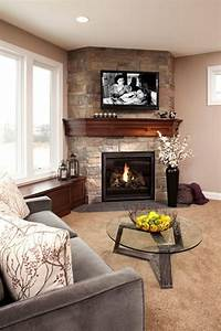 Fascinating, Modern, Fireplace, Design, For, Awesome, Living, U2013, Incredible, Furniture