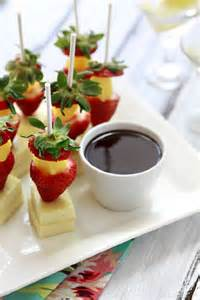 Strawberry Cheesecake Appetizers