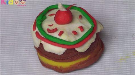 polymer clay birthday cake youtube