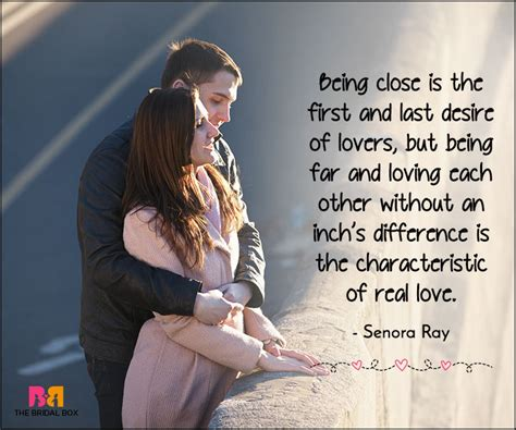 long distance love quotes      impression