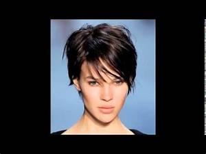 Coiffure Tendance 2016 Femme : coiffure tendance femme cheveux courts effil s youtube ~ Melissatoandfro.com Idées de Décoration