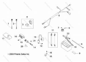 Polaris Side By Side 2012 Oem Parts Diagram For Electrical Parts