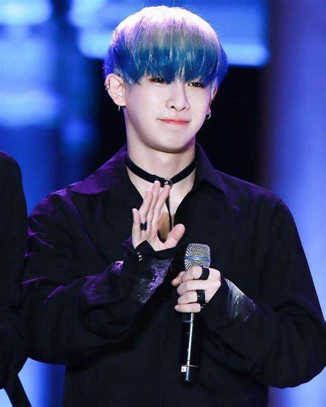 Blue Hair Wiki by Wonho Blue Hair Wiki K Pop Amino