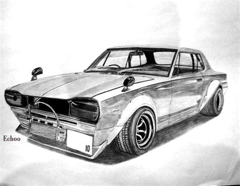 cool car drawings  inspiration hative