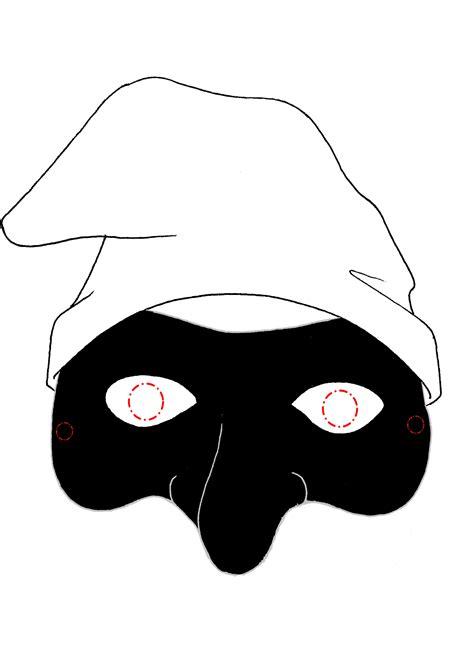 immagini colorate da stare maschere di carnevale da stare e colorare gratis