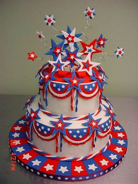 4th of july cake 55 adorable treats decorating ideas for labor day family holiday net guide to family holidays